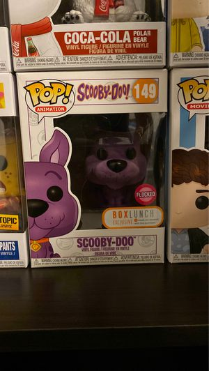 Purple scooby Doo pop Funko boxlunch exclusive for Sale in Huntington Beach, CA