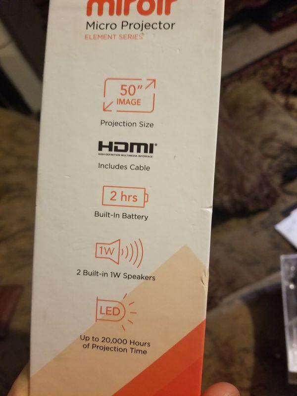 Miroir mini wireless projector