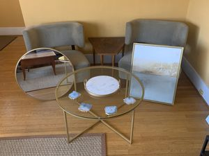 Interior Design Set - Gold Themed for Sale in Seattle, WA