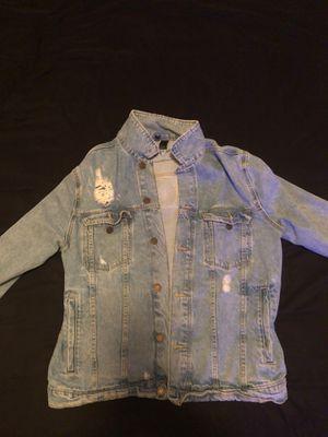 Male Jean jacket Nicki Minaj Medium for Sale in Arlington, VA
