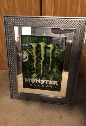 Monster Energy wall art/mirror! for Sale in Fenton, MO