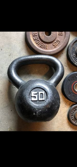 50 pound kettle bell weight for Sale in Castro Valley, CA
