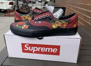 Supreme Vans Jean Paul Size 9 for Sale in Fort Worth, TX
