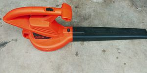 Black n Decker leaf blower for Sale in San Antonio, TX