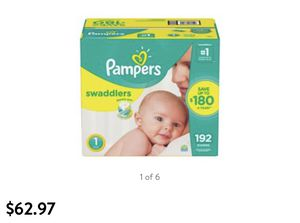 Pampers size 1 192 count for Sale in Phoenix, AZ