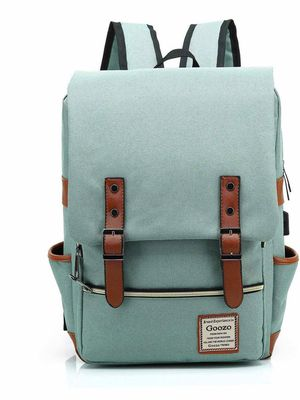 Laptop Backpack with USB Charging Port for Women Men to 15.6 Inch Notebook Green for Sale in Huntington Beach, CA