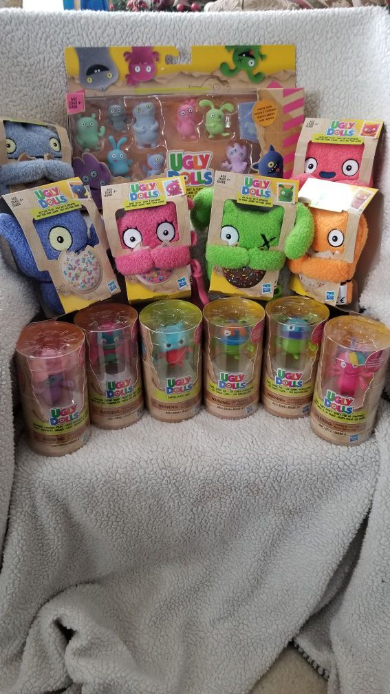Ugly dolls toy lot