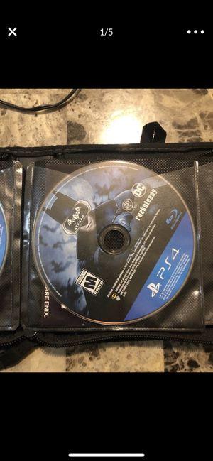 PS4 GAME BUNDLE for Sale in Las Vegas, NV