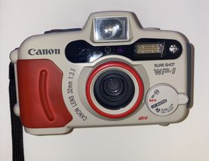 Canon WP-1 point and shoot Film Camera waterproof for Sale in Coral Gables, FL