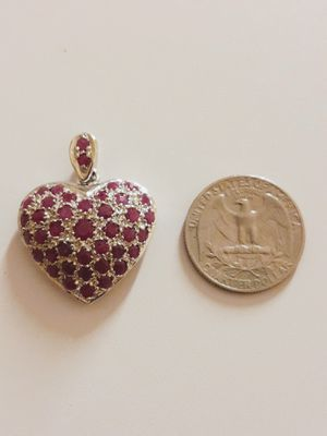 Genuine red Ruby very beautiful pendant/charm. for Sale in Phoenix, AZ