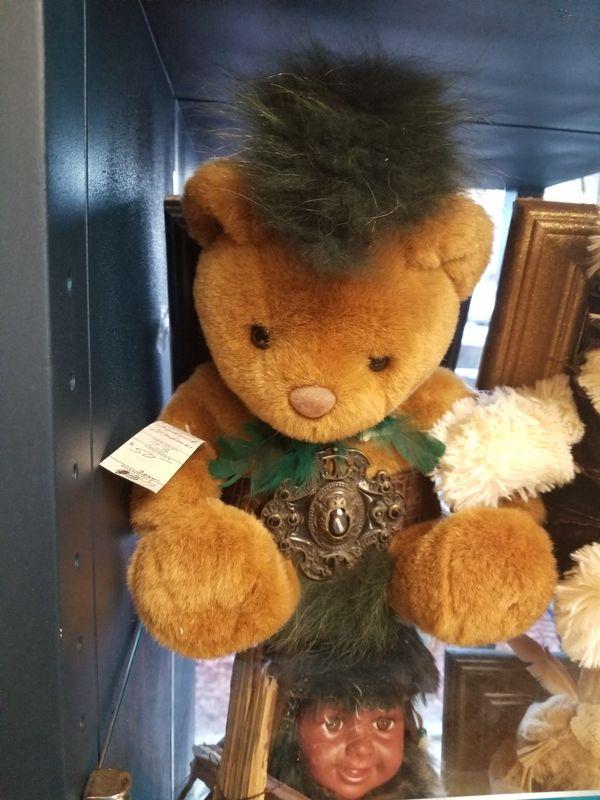 Framed custom teddy bear deco