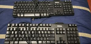 2 Used Dell Keyboards for $20.00 for Sale in Miami, FL