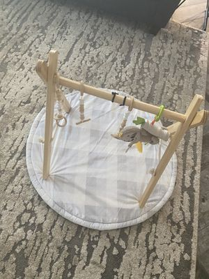Baby gym and reversible play mat for Sale in Phoenix, AZ