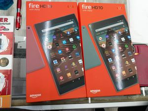 Amazon Fire HD10 Tablet Brand new sealed with 1 year warranty for Sale in The Bronx, NY