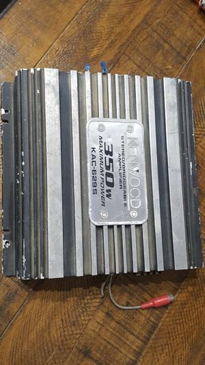 Kenwood 2 Channel Amp amplifier for Sale in Bakersfield, CA