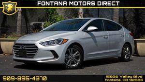 2017 Hyundai Elantra for Sale in Fontana, CA