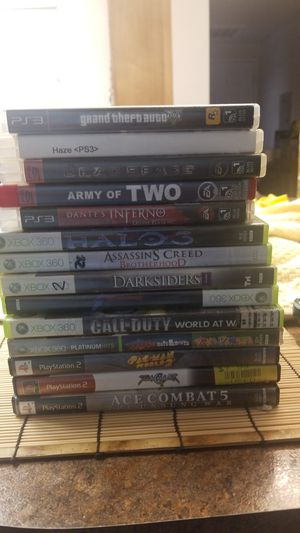 Ps2 , xbox 360, ps3 games for Sale in Las Vegas, NV