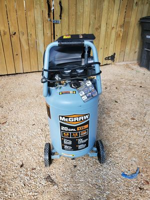 Compressor mcgraw 20 gal for Sale in San Antonio, TX