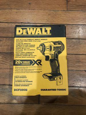 Dewalt Xr 3/8 impact wrench for Sale in Meriden, CT