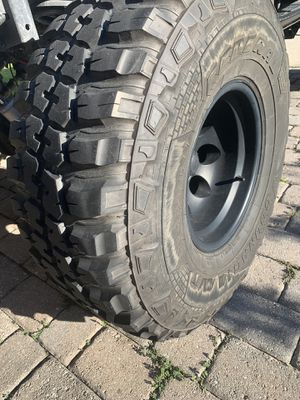 35 x 12.50 x 15 wheels and tires (5) for Sale in Lake Mary, FL