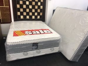 full mattress with boxspring for Sale in Diamond Bar, CA