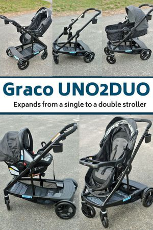 Graco Uno2Duo Travel System plus Add ons $650 value for Sale in Chicago, IL