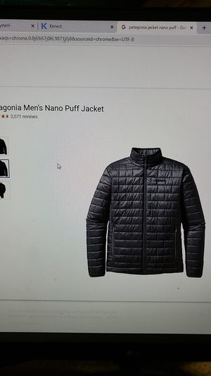 Patagonia nano jacket lrg. for Sale in Long Beach, CA
