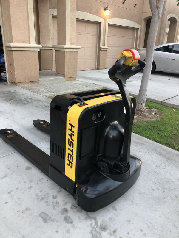 Hyster electric pallet jack forklift 24v -Priced to sell!!!