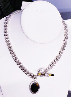 "RALPH LAUREN SILVER TORTOISESHELL NECKLACE ""NICE"" for Sale in New York, NY"
