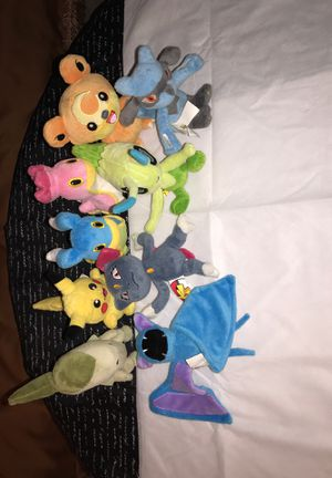 Pokemon Stuffed Animal Collection for Sale in Miami, FL