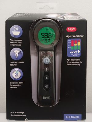 BRAUN NO TOUCH 3-IN-1 THERMOMETER for Sale in Springfield, VA
