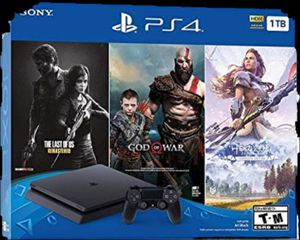Ps4 1tb with 3 games UNOPENED for Sale in Seattle, WA