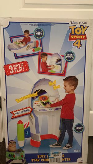Disney Toy Story Buzz Lightyear Star Command Center with working sound effects for Sale in Chapin, SC