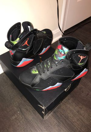 Air Jordan 7 retro 30th anniversary Barcelona nights Marvin the Martian 👽 size 12 for Sale in West Springfield, VA