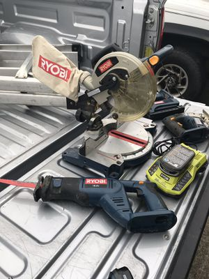 Ryobi 18volt tool set for Sale in Marysville, WA