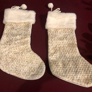 White Christmas Stockings for Sale in Los Angeles, CA