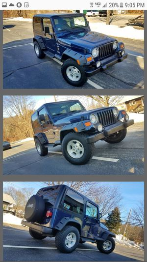 2001 JEEP WRANGLER SPORT 4X4 for Sale in Acton, MA