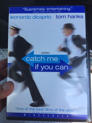 catch me if you can DVD for Sale in Spring Valley, MN