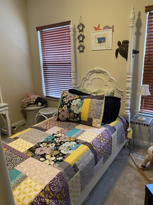 Wood Twin Bed Frame & Mattress for Sale in Longwood, FL