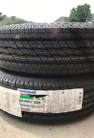 TOYO TIRE 225/65R17 NEW $200 for Sale in Richmond, TX
