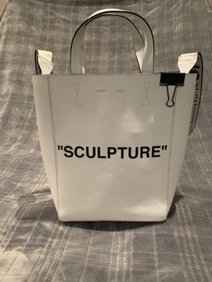 "Off White c/o Virgil Abloh White Medium ""sculpture"" Tote for Sale in Melrose, MA"