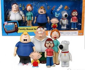 Mezco Family Guy Family Box set (Peter,Lois,Chris,Stewie,Brian,Meg) adult cartoon toy box set Near Mint On Card for Sale in Mukilteo, WA