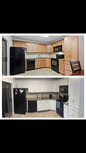 Kitchen Cabinets Refinishing for Sale in Palm City, FL