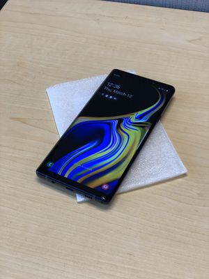 Blue Samsung Galaxy Note 9 128GB Unlocked for Sale in Raleigh, NC