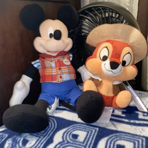 Two Disney Plushies for Sale in El Mirage, AZ