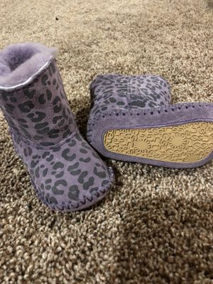 Purple printed Uggs for Sale in Portland, OR