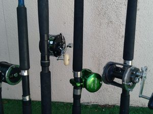Avet penn sabre fishing poles for Sale in Anaheim, CA