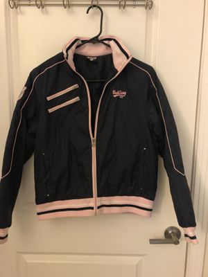 Navy & Pink rain & snow material jacket (M size). for Sale in Vienna, VA