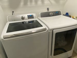 Samsung Washer and Electric Dryer Model VRTPlus for Sale in Rockledge, FL