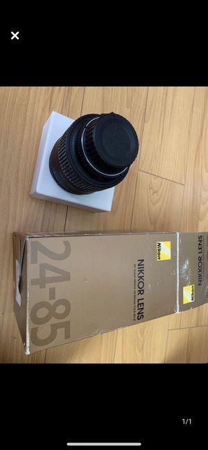 Nikon Nikkor d type 24-85mm f2.8 lense for Sale in Fremont, CA